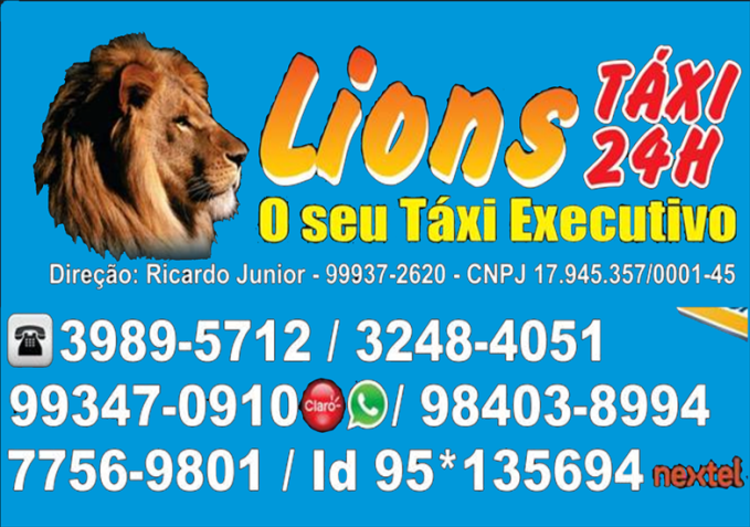 lions táxi